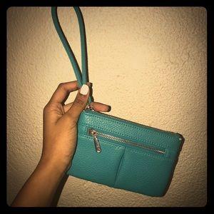 charming charlie wristlet purse